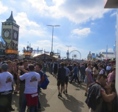 The hordes of Oktoberfest